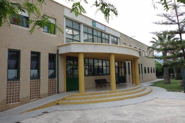 Colegio san luis de sabinillas manilva málaga junta educación obras prefabricada