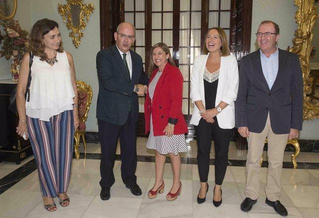 Acuerdo entre Diputación de Cádiz y Confederación de Empresarios