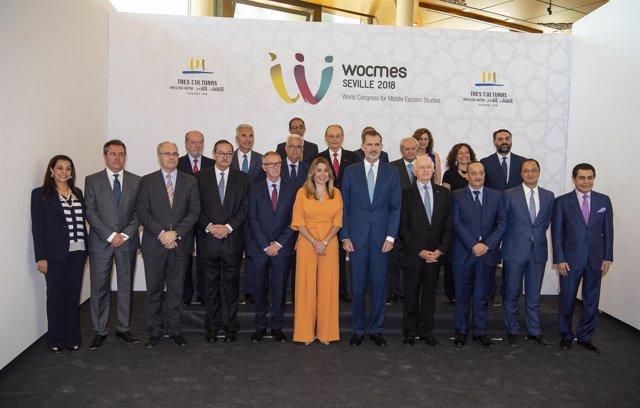 El Rey Felipe VI inaugura Wocmes Sevilla 2018