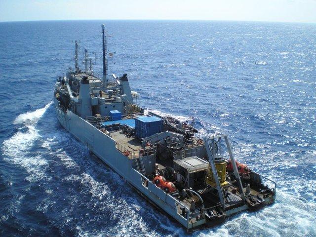 Buque Neptuno de la Armada Española