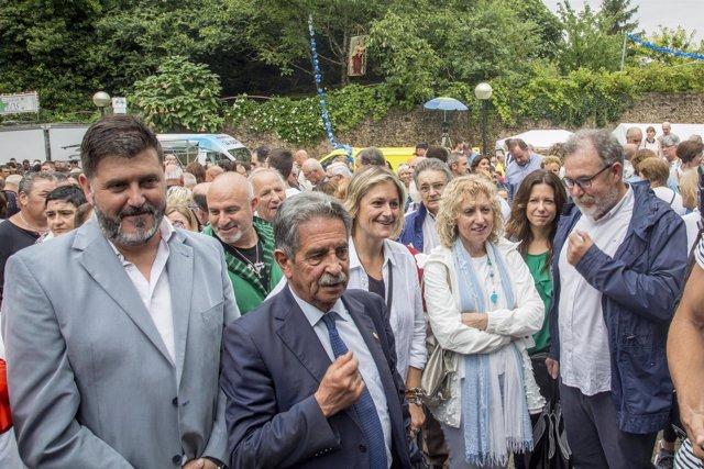 Celebración de las fiestas del Carmen en Revilla de Camargo