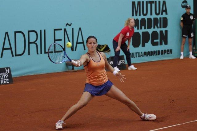 Arruabarrena en el Mutua Madrid Open
