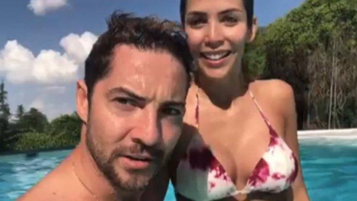 David Bisbal y Rosanna Zanetti disfrutan del verano con Ella