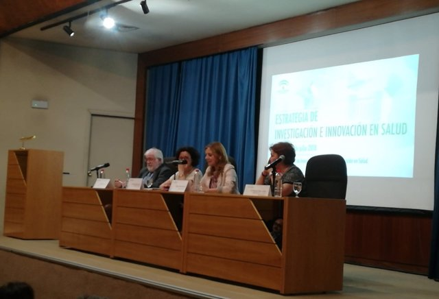 Presentación de la estrategia I+i en Salud de la Junta en Málaga