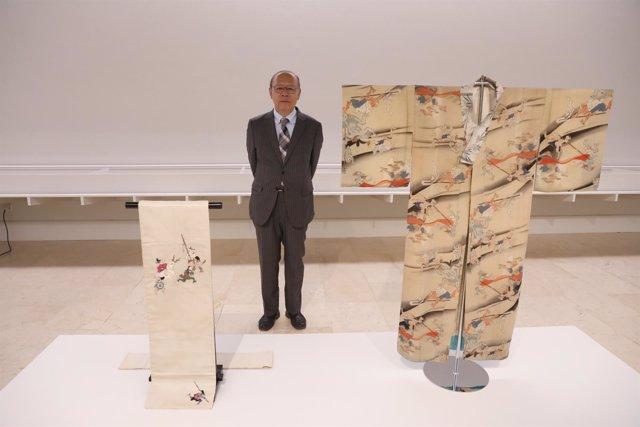 Imagen de la exposición Yokai: iconografía de lo fantástico con su comisario