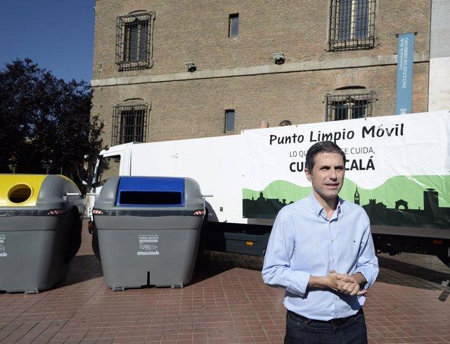 El alcalde de Alcalá de Henares. Javier Rodríguez Palacios