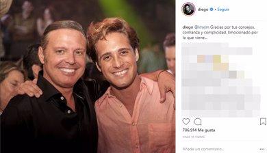Luis Miguel y Diego Boneta, el tándem que revoluciona las redes y la televisión