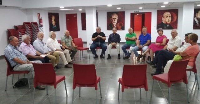 El Consejo Provincial de Mayores del PSOE constituye la comisión permanente.