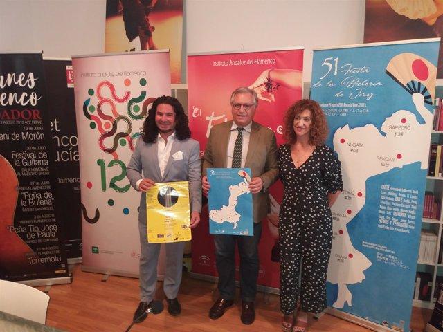 Fundarte Y La Unidad De Flamenco Y Festivales Musicales Del Ayuntamiento De J