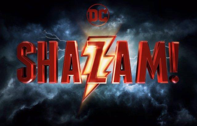 Logo de la película de Shazam