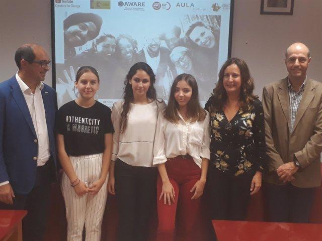 Alumnos del IES La Loma de Villamartín participantes en el programa 'Somos Más'