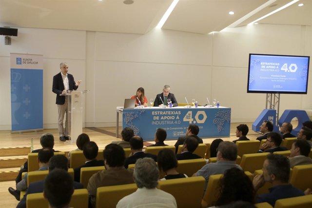 Francisco Conde presenta una iniciativa sobre los 'hubs' de innovación digital