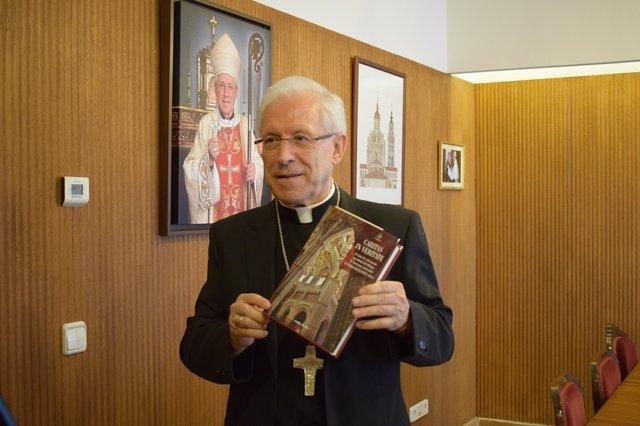 El obispo de Tarazona, monseñor Eusebio Hernández Sola