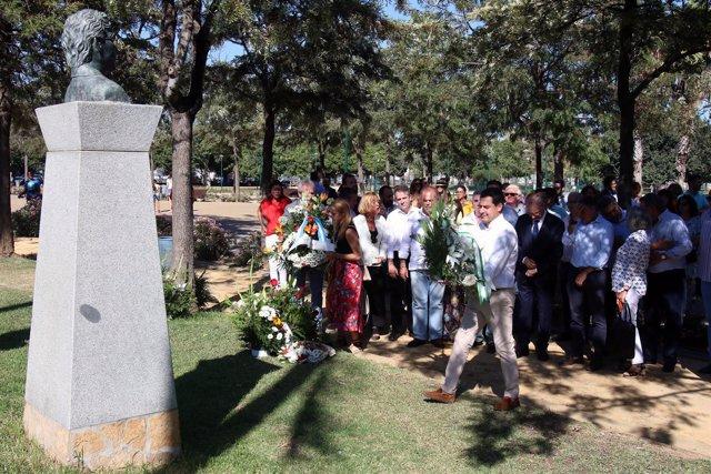 Juanma Moreno homenaje 18 aniversario del asesinato de Martín Carpena