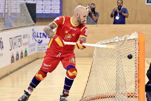 España arrolla a Holanda en su segundo encuentro del Europeo de hockey patines