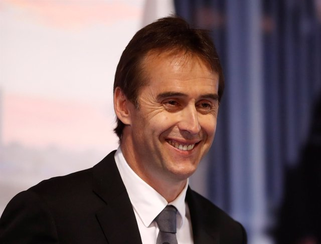 Soccer Football - Real Madrid present new coach Julen Lopetegui - Santiago Berna