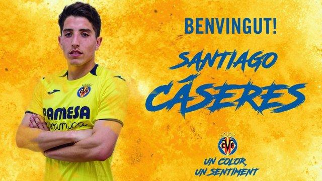 El Villarreal ficha al mediocentro argentino Santiago Cáseres