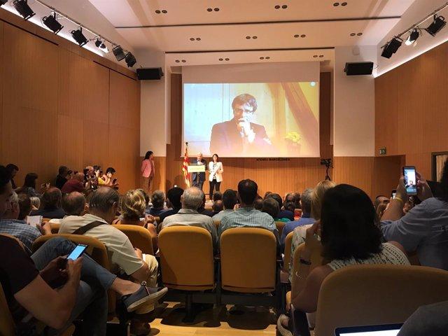 Puigdemont presenta Crida Nacional per la República