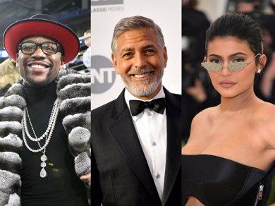 Kylie Jenner y George Clooney, los mejor pagados de 2018 según Forbes