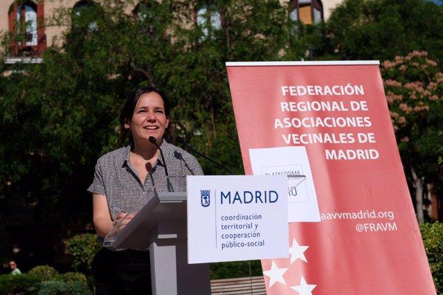 La comisionada del Ocio del Ayuntamiento de Madrid