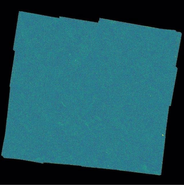 El área del cielo estudiada por el telescopio Herschel