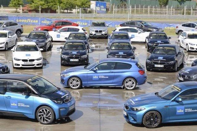 RACE recibe su flota de BMW para sus cursos de formación