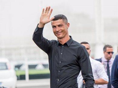 Cristiano Ronaldo revoluciona las redes con esa foto en el Juventus Stadium