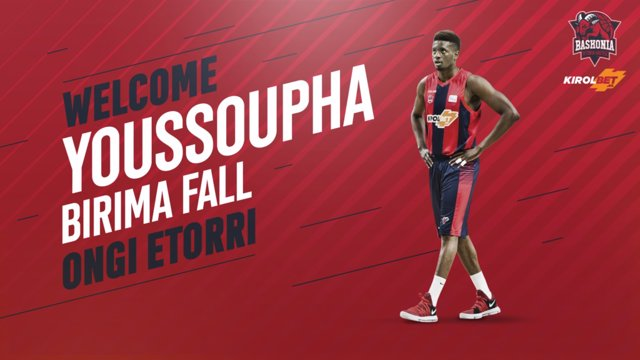 El Baskonia apuesta por la joven 'torre' senegalesa Youssoupha Fall