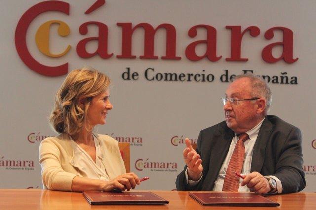 Acuerdo entre Cámara de España y Cotec