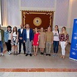 Entrega de las becas de Phillip Morris a estudiantes de la ULPGC