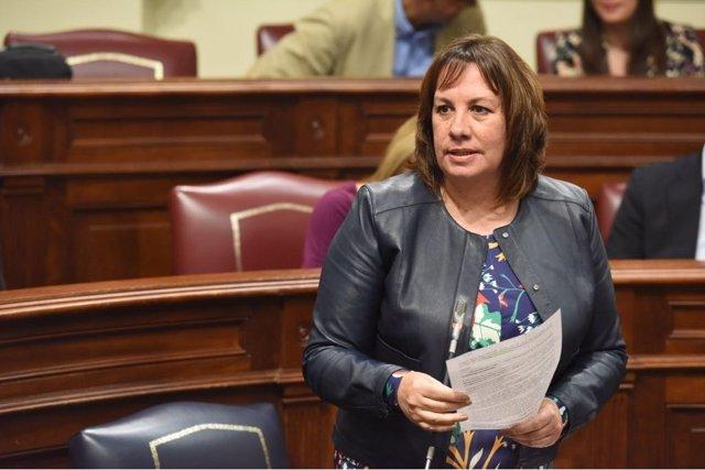 Soledad Monzón, consejera de Educación y Universidad del Gobierno de Canarias