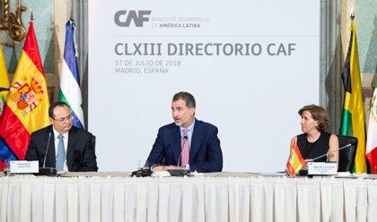 Felipe VI aboga por el incremento de la colaboración e inversión en América Latina