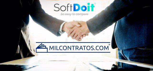SoftDoit y Milcontratos.Com colaboran para fomentar el uso de las tecnologías