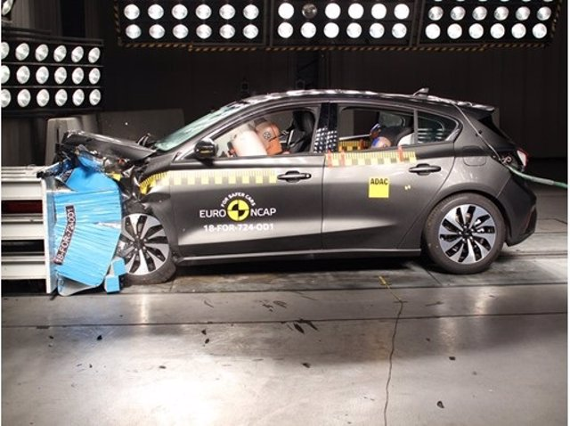 Test de seguridad de Euro NCAP (Ford Focus)