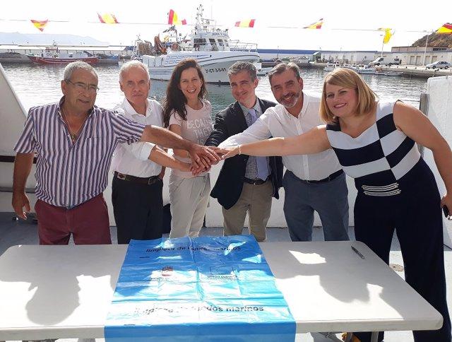 Presentación proyecto 'Upcycling the Oceans' en Murcia