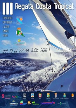 Cartel de la III Regata de la Costa Tropical de Granada