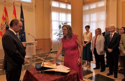 """Pilar Ventura asume con """"gran honor"""" y responsabilidad la Consejería de Sanidad del Gobierno de Aragón"""