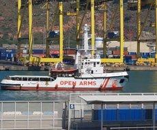 Open Arms es dirigeix a les costes espanyoles i demana la coordinació de l'operació de rescat (Europa Press)