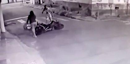 Un policía brasileño fuera de servicio frustra su propio asalto en el momento menos esperado