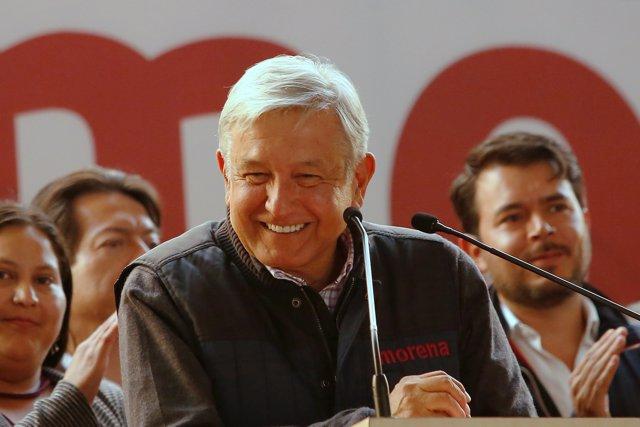López Obrador se reúne con Peña Nieto y Mike Pompeo