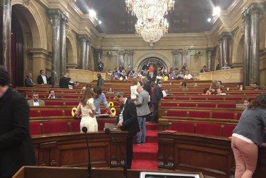 El Parlament desconvoca el ple després de la manca d'acord sobre els diputats suspesos (EUROPA PRESS)