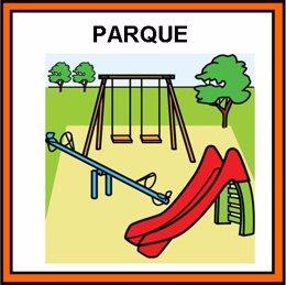 Los parques de Murcia tendrán pictogramas adaptados para niños con TEA