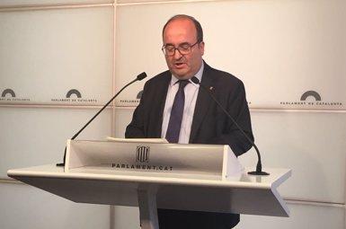 """Iceta (PSC) culpa JxCat i Cs d'""""impedir el normal funcionament del Parlament"""" (EUROPA PRESS)"""