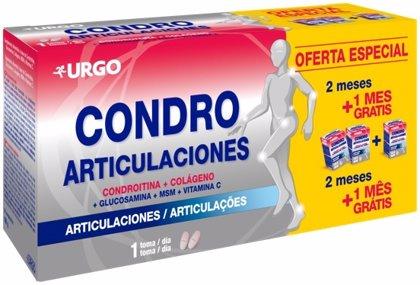 Empresas.- 'Urgo Condro Articulaciones' (Urgo) ayuda a mantener sanos los huesos y cartílagos