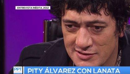 """Publican una entrevista inédita de Jorge Lanata a 'Pity' Álvarez que """"presagiaba"""" el asesinato que cometió"""