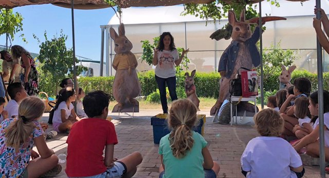 Evento Peter Rabbit
