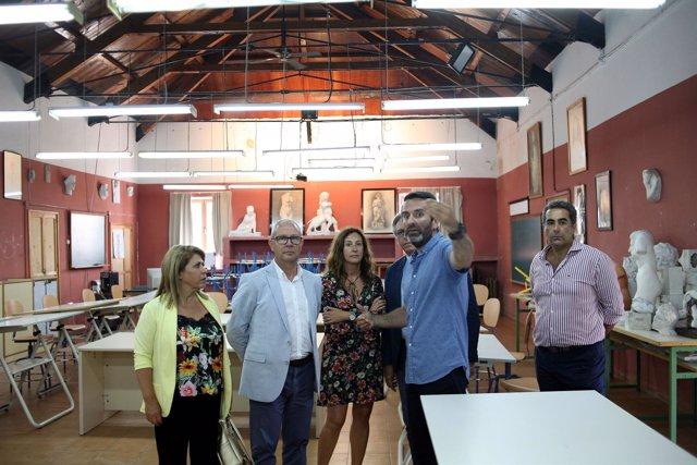 Visita a la Escuela de Arte de Jerez