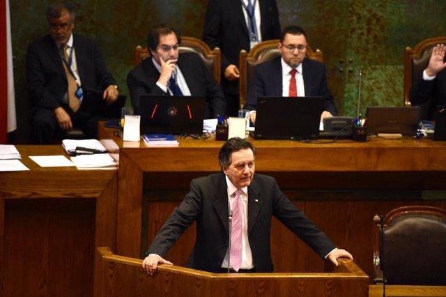 El ministro de Exteriores chileno, Roberto Ampuero.