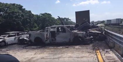Al menos seis muertos en un trágico accidente de tráfico en Veracruz (México)