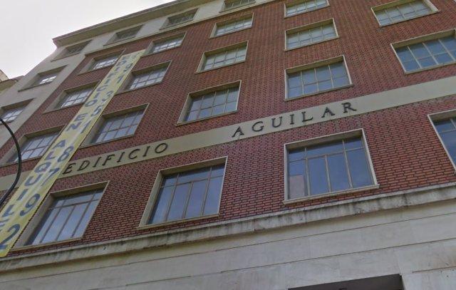 Edificio Aguilar okupado por Hogar Social Madrid